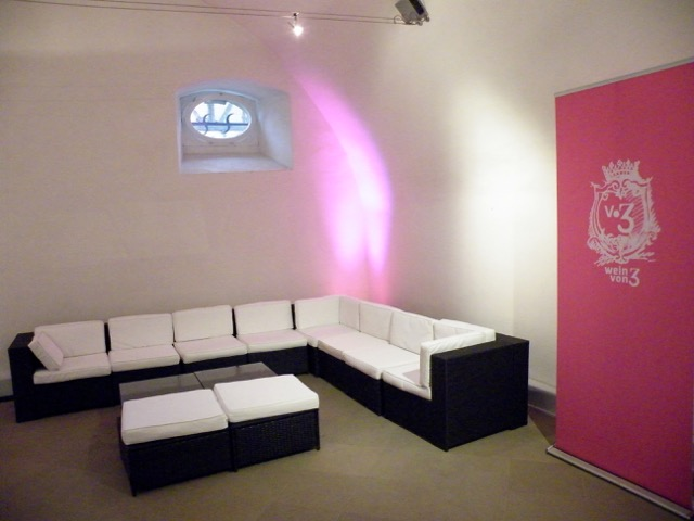 Lounge-Sitzmöbel Remise Barockschloss Zeilitzheim