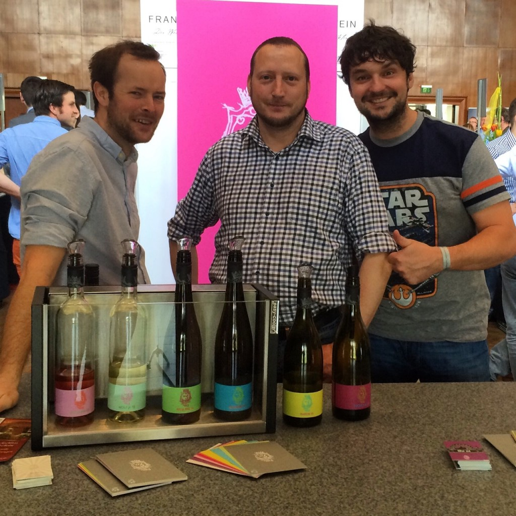 Die 3 Weinmacher bei der Wein-Plus Convention in München