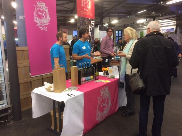 Wein von 3 bei Messe Wein & Taste in Düsseldorf 2016
