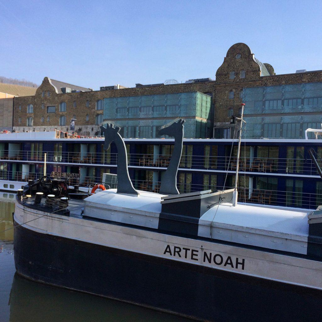 Kunstschiff Arte Noah in Würzburg