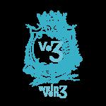 Logo wein von 3 blau