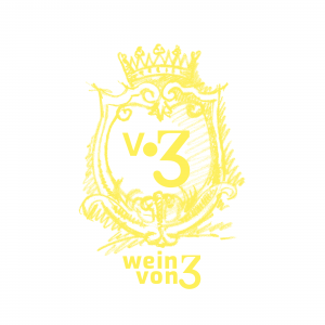 Logo wein von 3 gelb